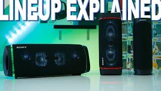 Sony's 2020 Speaker Lineup Explained - XB43, XB33, XB23