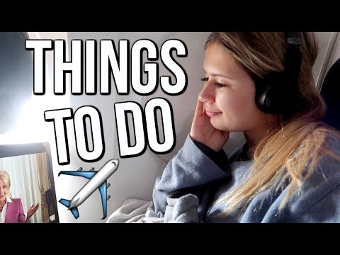 Things to Do on the Plane | What to do When Bored