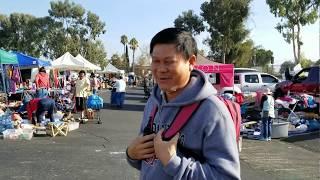 Bán đồ cũ tại chợ trời ở San Jose - Người Việt ở Mỹ
