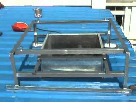How To Install The Cooler On The Steel Plate Roof Youtube