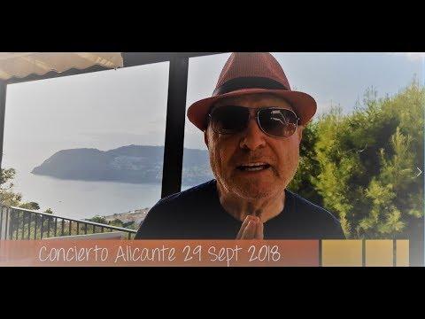 Jean Paul de French Latino - Concierto Alicante 29 Sept 2018