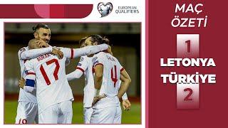 2022 Dünya Kupası Elemeleri | Letonya-Türkiye (ÖZET) 90+9da gelen müthiş galibiyet...
