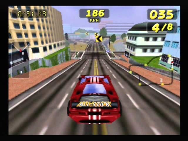 San Francisco Rush [N64] Gameplay