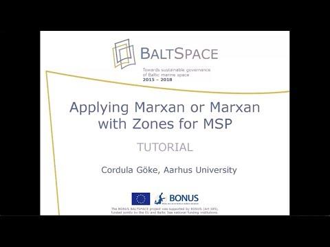 BONUS BALTSPACE Marxan Training Video for Maritime Spatial Planners