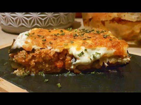 moussaka-:-gratin-de-pomme-de-terre-à-l'aubergine