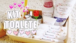 DIY  Kit Toalete ♥♥
