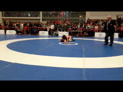 2015 Senior National Championships: 53 kg Madison Parks vs. Kate Richey