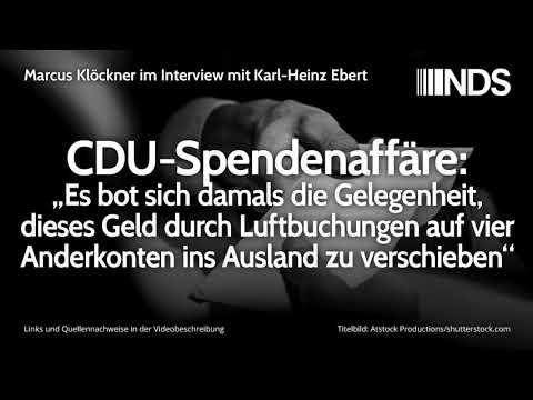 """CDU-Spendenaffäre: """"Es bot sich damals die Gelegenheit, dieses Geld […] ins Ausland zu verschieben"""""""
