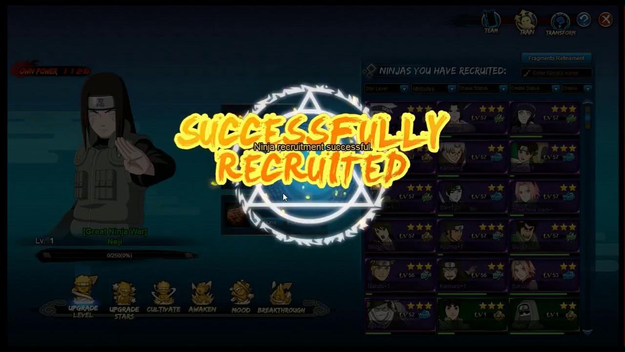 Naruto Online Run Day 22 Pre Reset Unlocked Gnw Neji And Free Jonin Medal