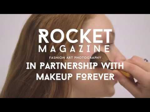 Rocket Magazine in Partnership with Makeup For Ever
