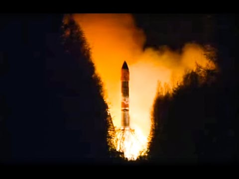 Soyuz Rocket Launch Failure - Rocket Explosion