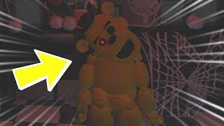 Golden Freddy Jumpscare! Roblox Animatronics Risvegliato