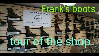 d1b7cd58e1 Frank s boots tour of the shop and boot making. White s or Nicks  no get