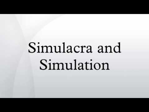 an illustration of the points of baudrillard on simulation and simulacra in the matrix