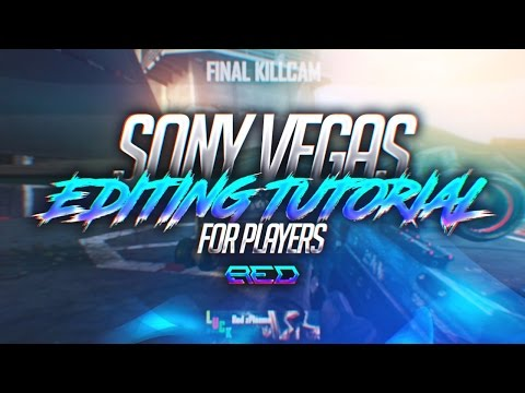 How I Edit My Videos! (Sony Vegas Tutorial) - Red Plasma