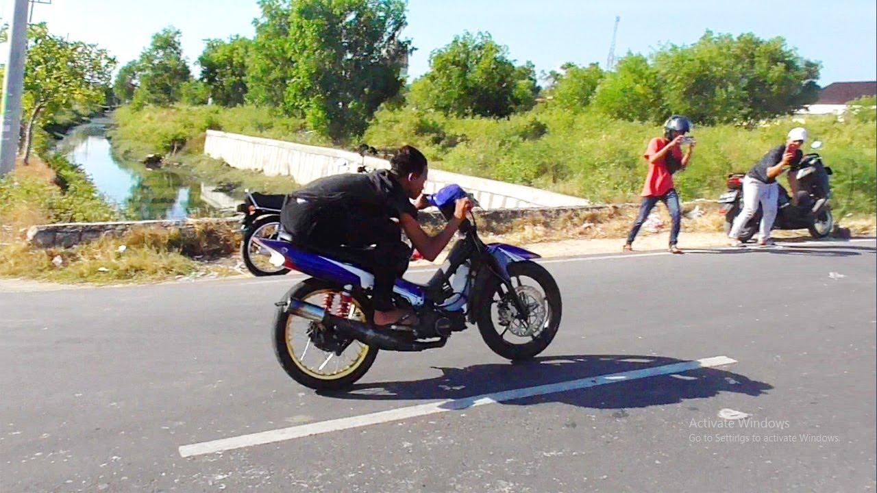 BIKIN GEGER!! NYETTING PERDANA YAMAHA FIZ R 116 CC GARAPAN ANTOK SURYA MOTOR