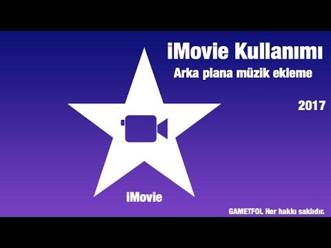 iMovie ile videolara müzik eklemek