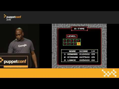 Kubernetes for Sysadmins – Kelsey Hightower at PuppetConf 2016