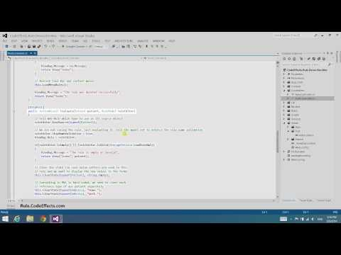 How to create execution type rules using Code Effects business rules engine