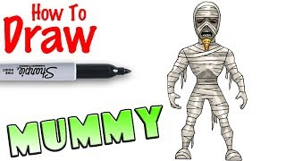 How to Draw the Mummy | Goosebumps 2