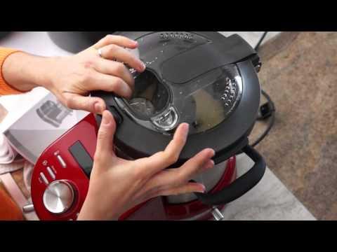 1er test Kitchenaid cook processor