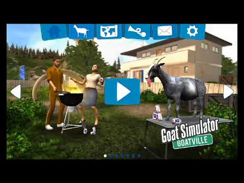 Goat simulator ( why is the goat so angry ? )