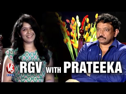 RGV Chit Chat with Prateeka || V6 Prateeka Show || Pakka Hyderabadi || V6 News