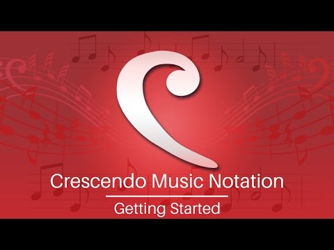 Crescendo Music Notation Tutorial | Get Started
