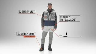 2018 G3 Cuide Collection Waders, Vest, Boot & Jacket