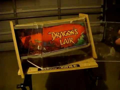 Dragons Lair - Arcade Cabinet Build Video 4 - YouTube