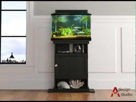 Ameriwood Home Flipper™ 10/20 Gallon Aquarium Stand