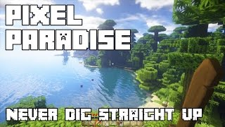 ASMR | Minecraft Pixel Paradise: Never Dig Straight Up