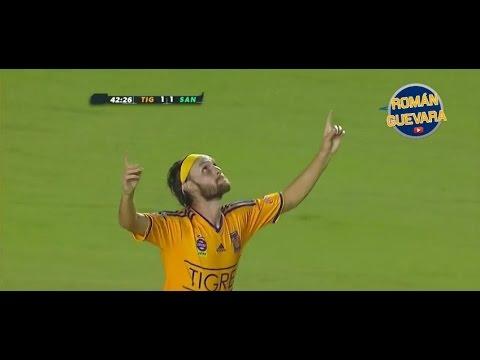 Los 9 Goles De Edgar Gerardo Lugo Con Tigres HD