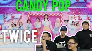 "TWICE ""CANDY POP"" (MV Reaction) #roadto100k"