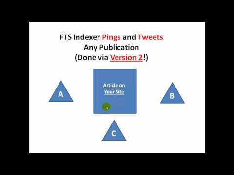 FTS Indexer - Hands Free Indexation Booster