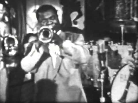 Louis Armstrong + Barney Bigard 1955 - Colgate Comedy Show - 4 items