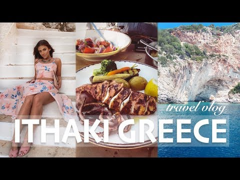 ITHAKI ISLAND GREECE | TRAVEL VLOG | PART 1