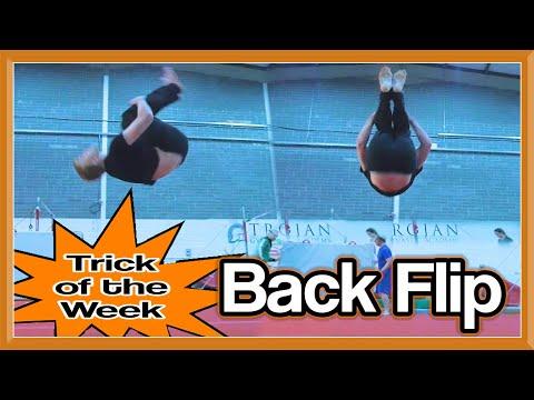 TOTW: Back Flip (Slow Motion Side & Front) | GNT