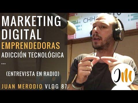 MARKETING DIGITAL, EMPRENDEDORAS… (entrevista para la radio) ✔