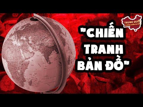 """""""Chiến Tranh Bản Đồ"""": Cách Bản Đồ Trung Quốc Len Lỏi Khắp Thế Giới   Trung Quốc Không Kiểm Duyệt"""