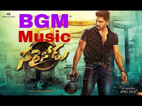 Sarainodu Movie | BGM Music | Allu Arjun | Mass