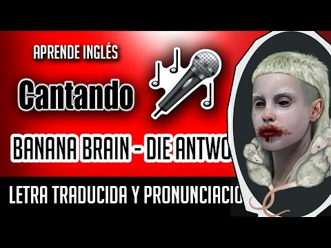 Banana Brain - DIE ANTWOORD (Official Video Lyrics) Letra Ingles - Español + Pronunciacion