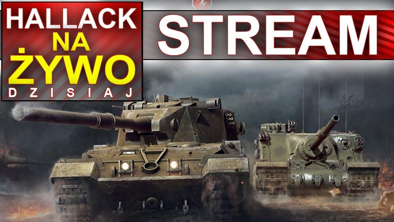 Hallack na żywo – World of Tanks vs War Thunder – nagrywamy do prezentacji grafiki