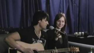Dima Koldun live acapella - NLO Club - 6.10.08 - Shlang