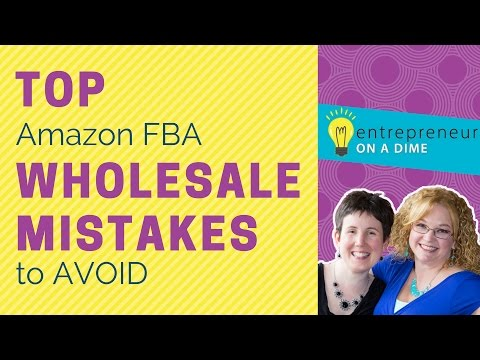 Top Amazon FBA Wholesale Mistakes to Avoid