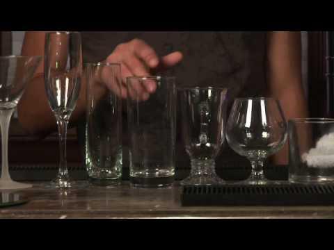 Bartending Tips : Types of Bar Glasses