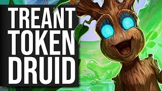 Fighting Dragons With... Wood? TREANT DRUID! | Standard | Hearthstone