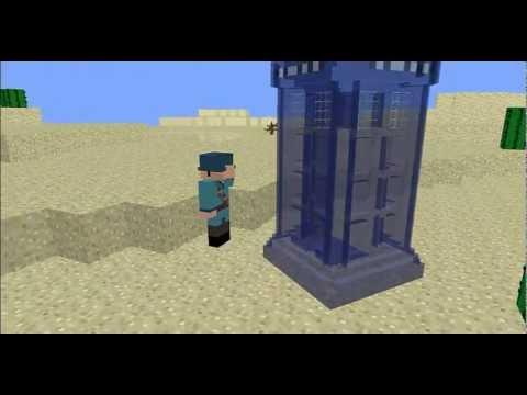 Minecraft TARDIS Materilizing - YouTube