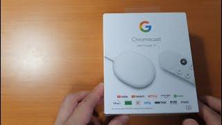 구글 크롬 캐스트 4세대 (GOOGLE CHROMECA…