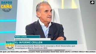 Mario Conde: 'Usaron dinero público para sus intereses espúreos, para atacarme a mí